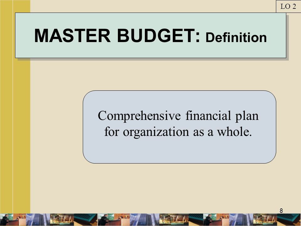 MASTER BUDGET: Definition