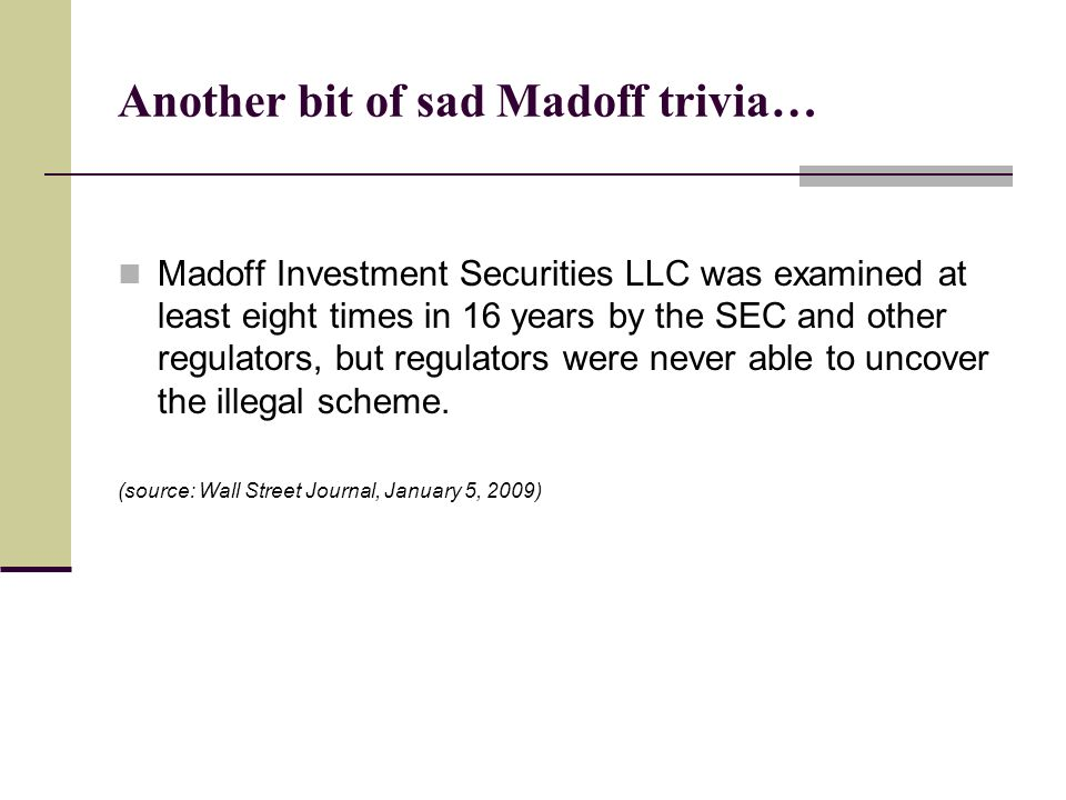 Another bit of sad Madoff trivia…