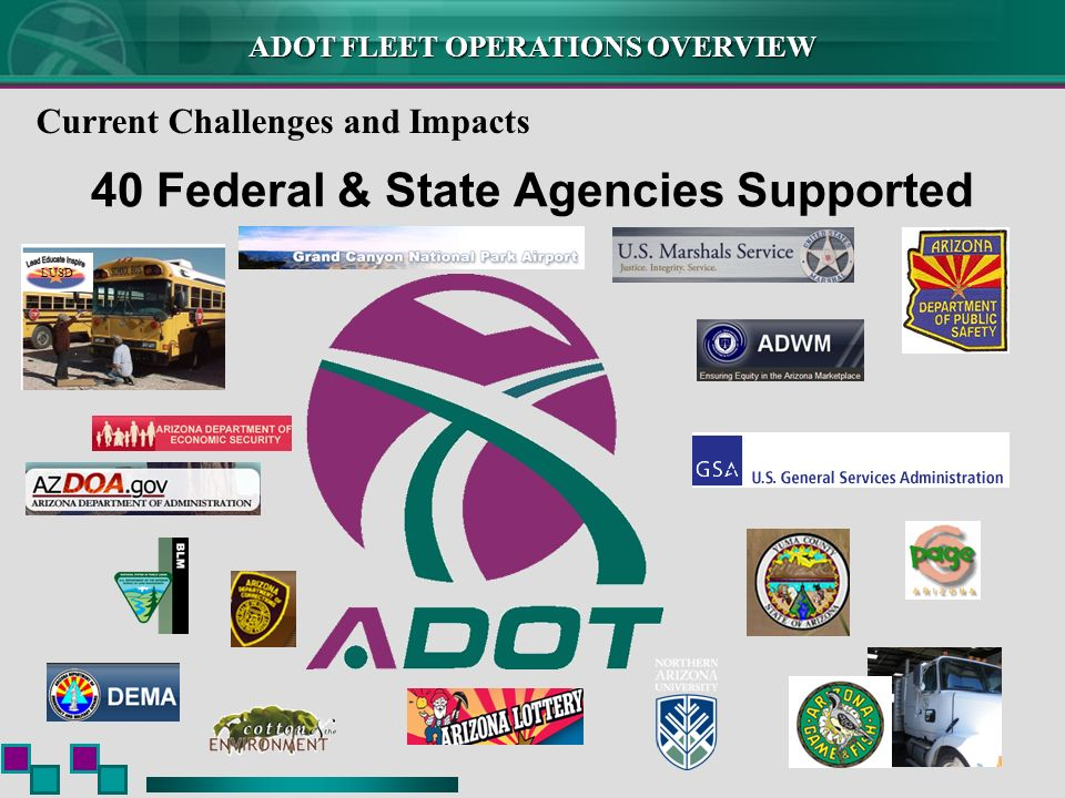 40 Federal & State Agencies Supported