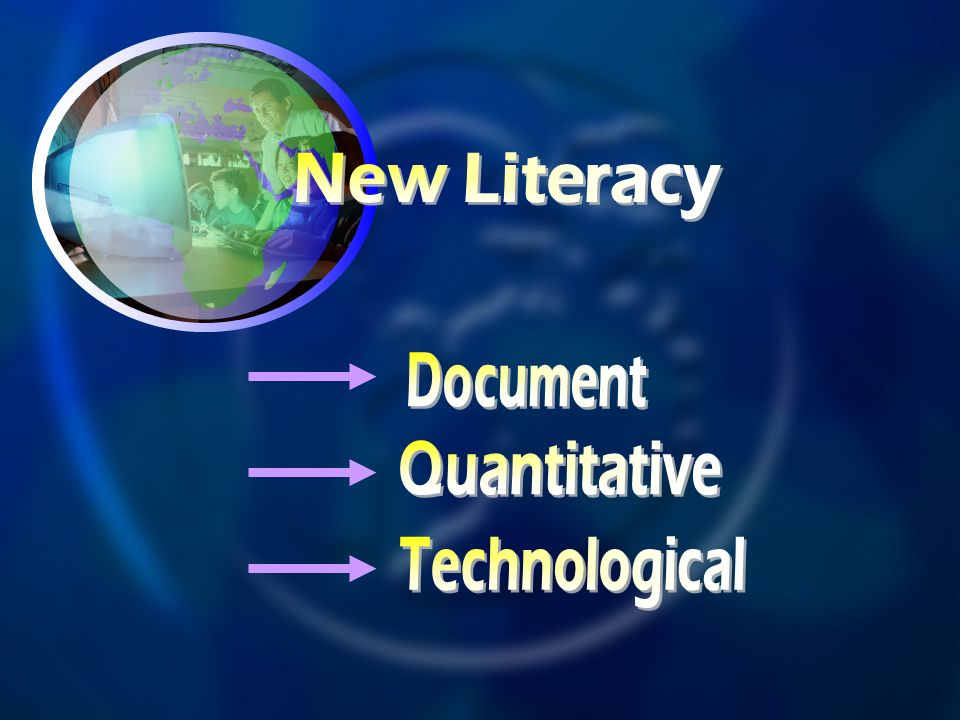 New Literacy Document Quantitative Technological