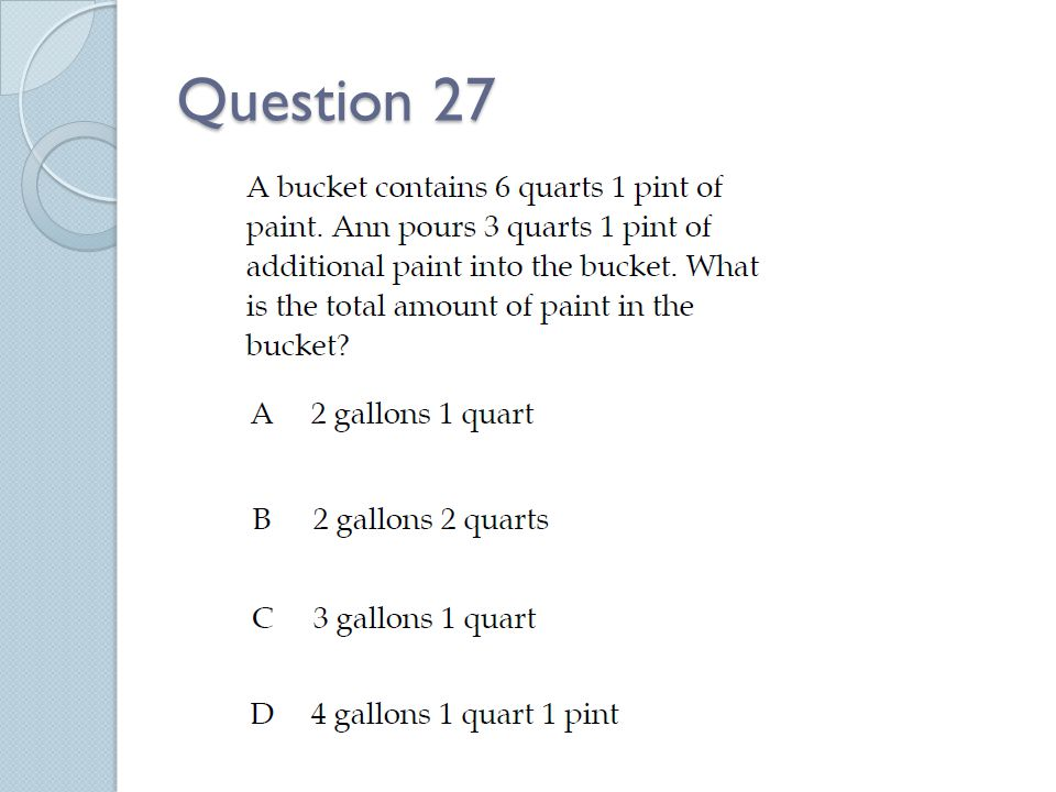 Question 27