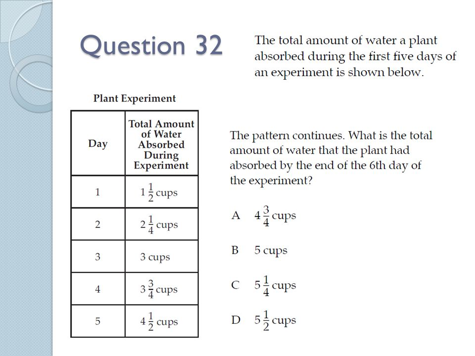 Question 32