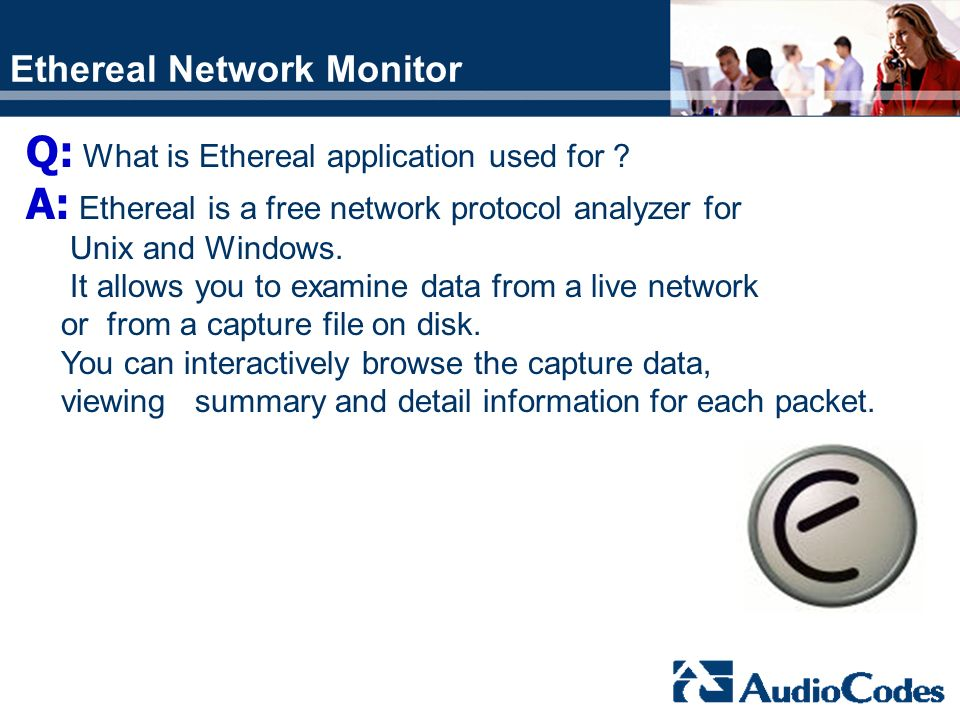 Ethereal Network Monitor