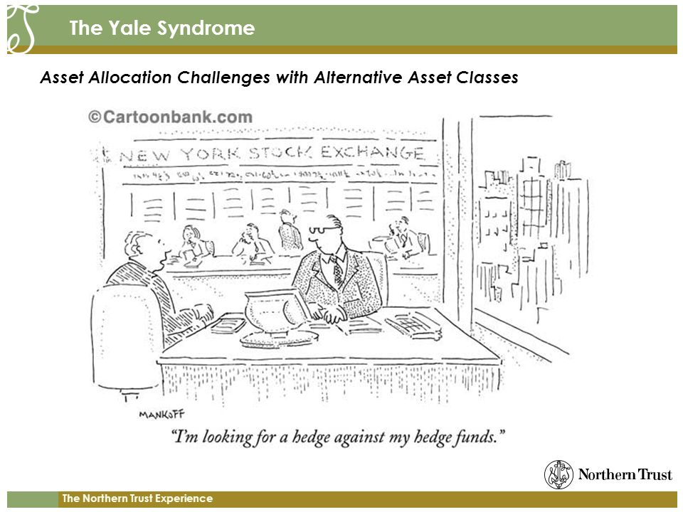 The Yale Syndrome Asset Allocation Challenges with Alternative Asset Classes