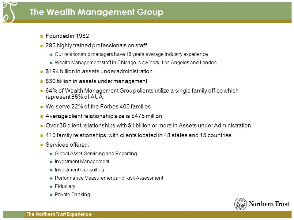 The Wealth Management Group