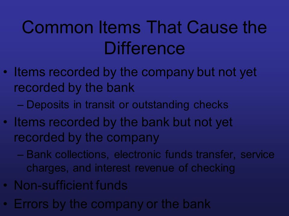 Common Items That Cause the Difference