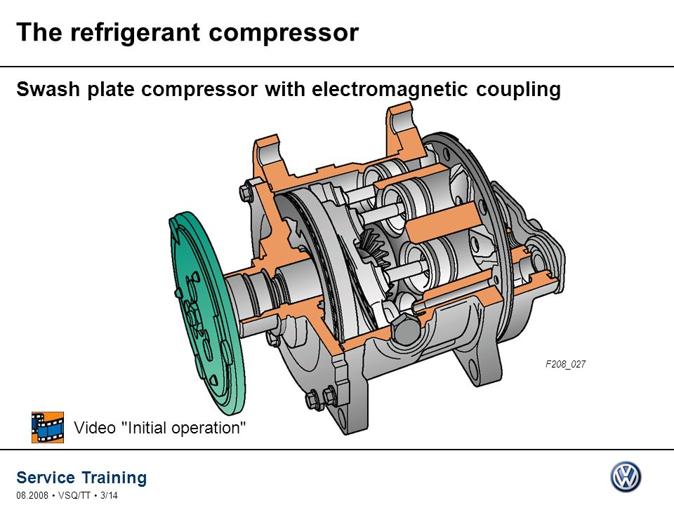 The refrigerant compressor