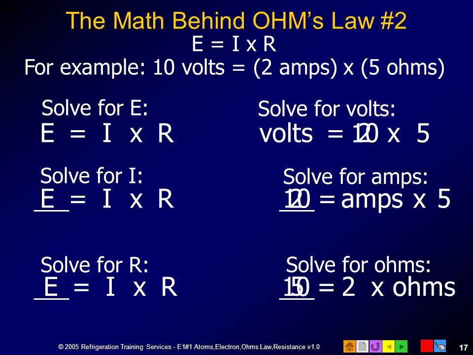 The Math Behind OHM's Law #2