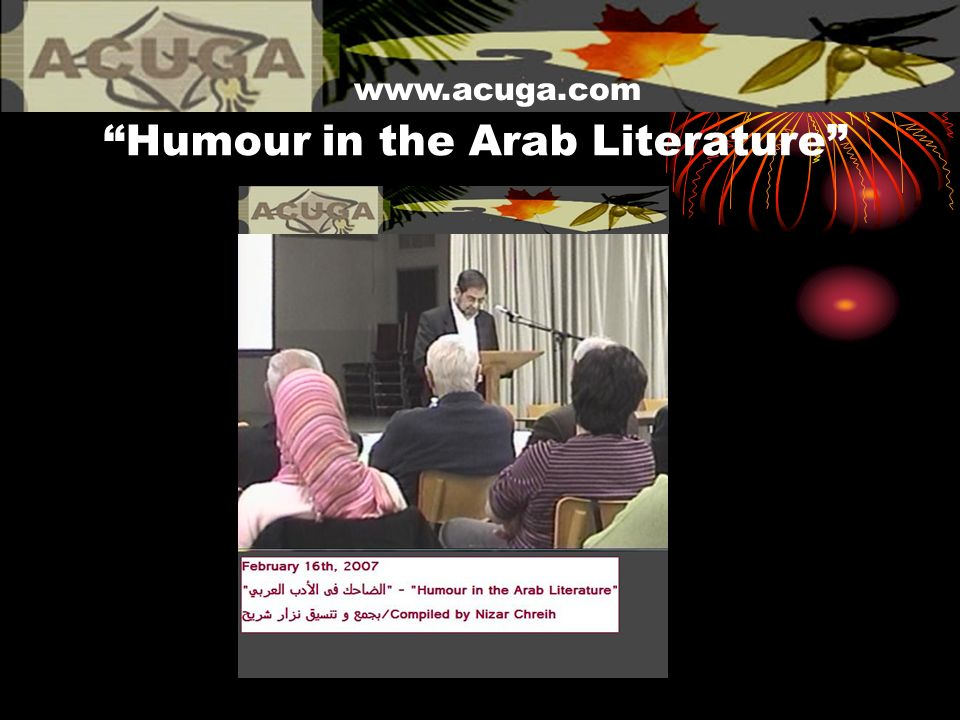 Humour in the Arab Literature