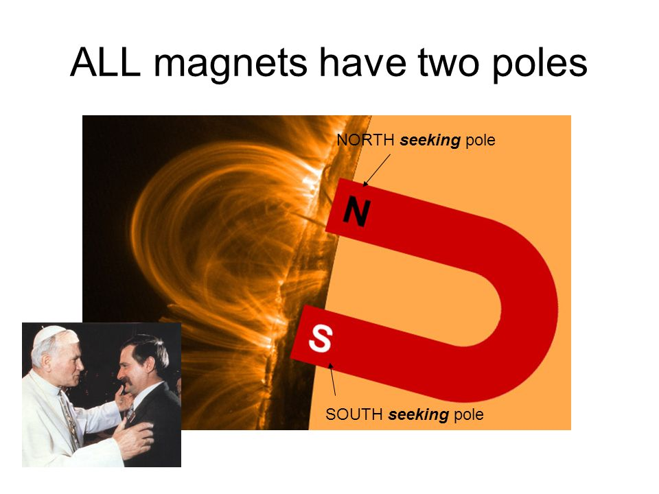 ALL magnets have two poles