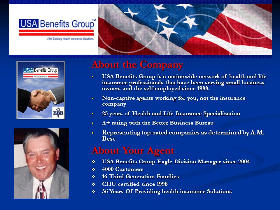 Who is USA Benefits Group