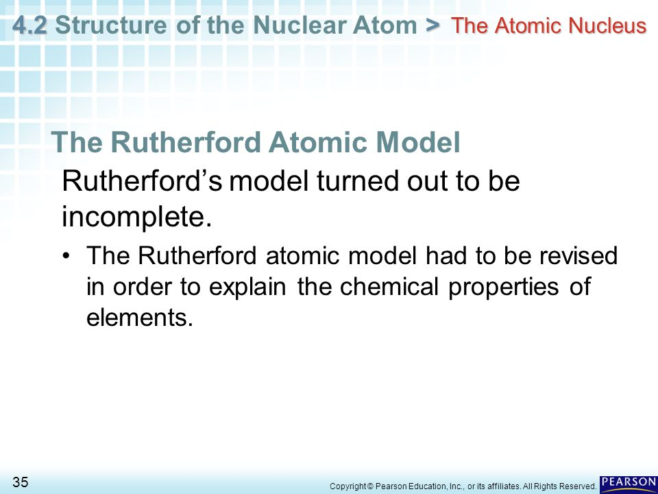 The Rutherford Atomic Model