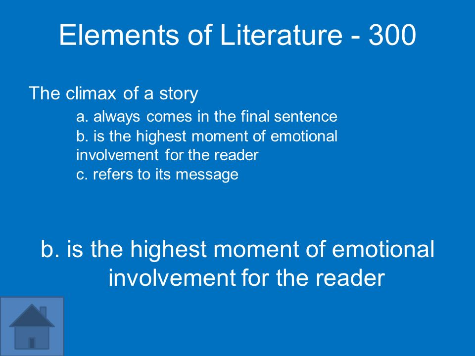 Elements of Literature - 300