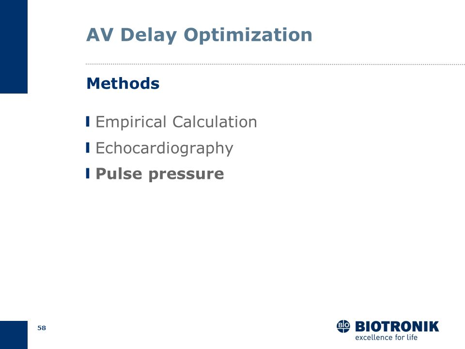 AV Delay Optimization Methods Empirical Calculation Echocardiography