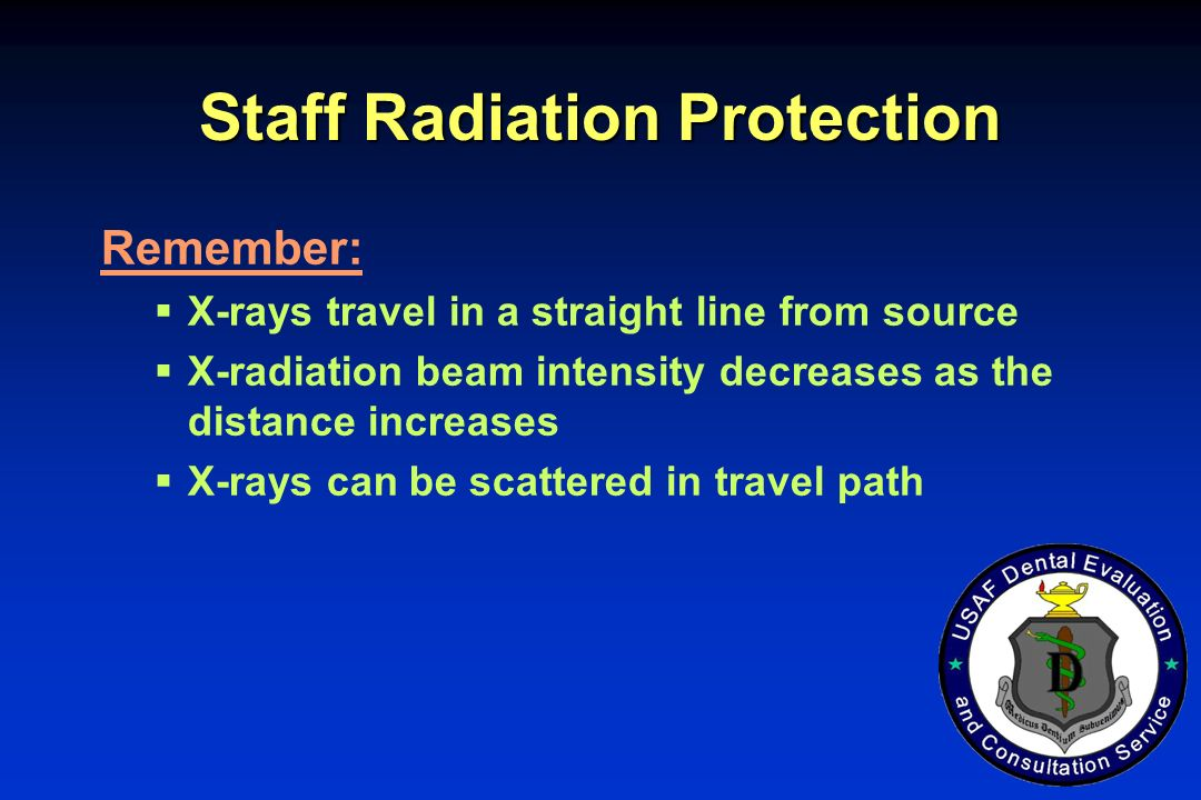 Staff Radiation Protection