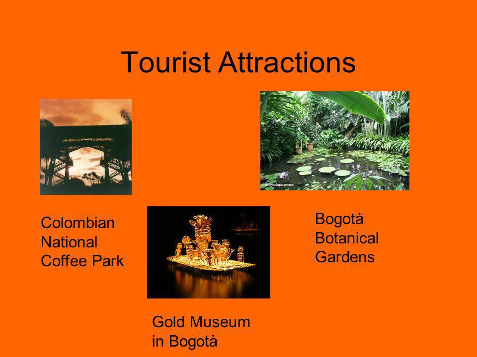Tourist Attractions Bogotà Botanical Gardens