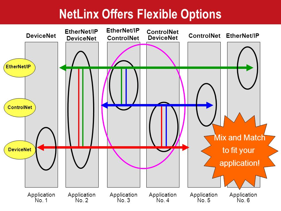 NetLinx Offers Flexible Options