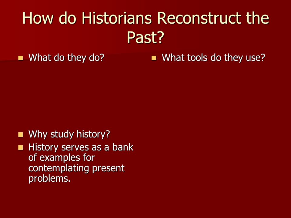 history does the past affect the Two slightly different ways in which your past may affect your present are: past experiences affecting your belief system your current belief system, behaviour and feelings may be affected by past experiences and the consequences for you in the past of acting in certain ways.