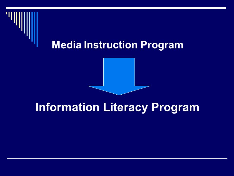Information Literacy Program