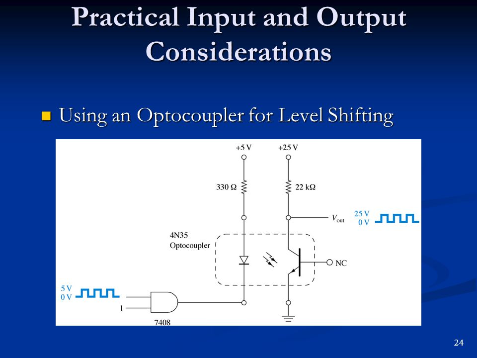 Practical Input and Output Considerations