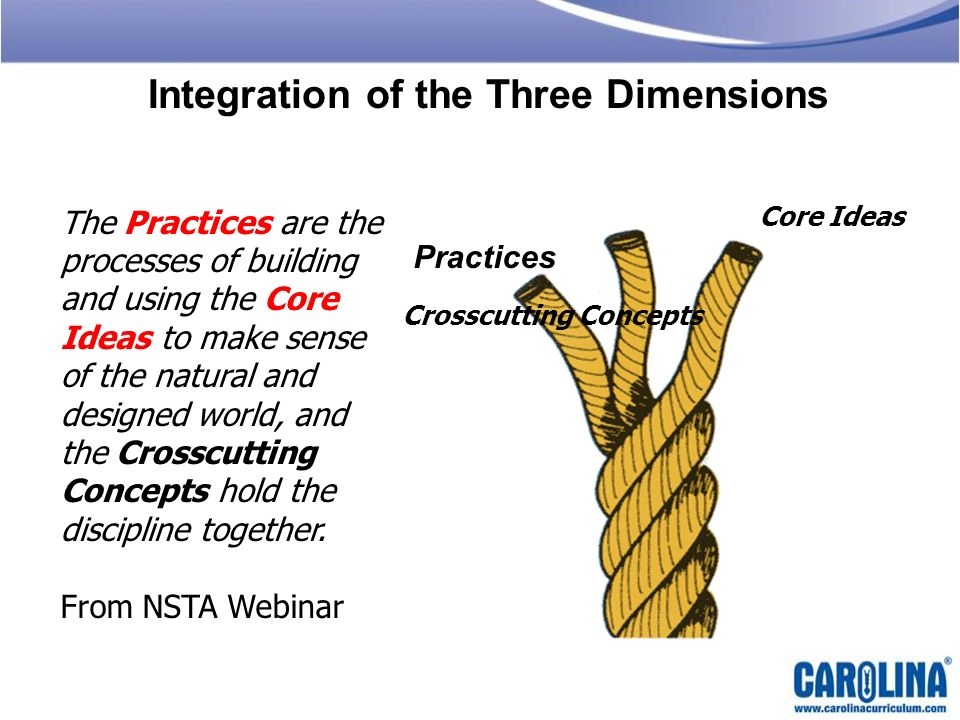 Integration of the Three Dimensions