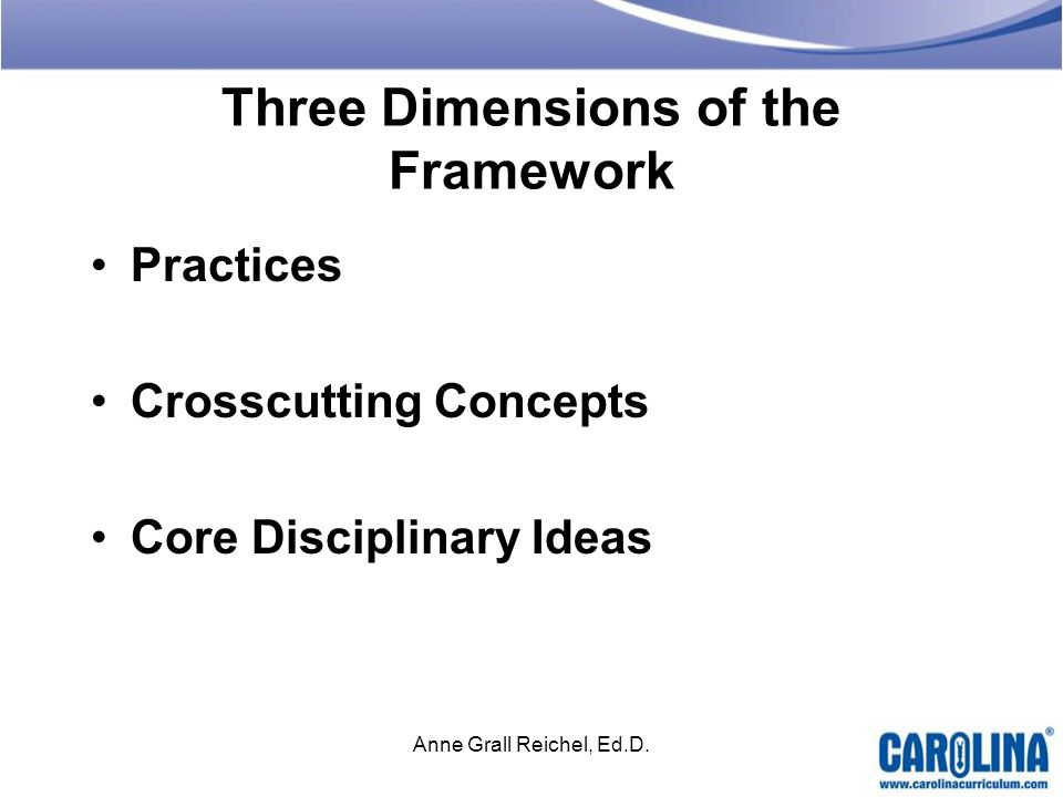 Three Dimensions of the Framework