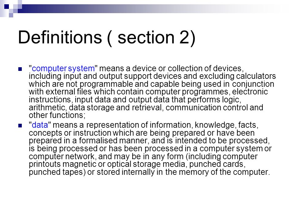 Definitions ( section 2)