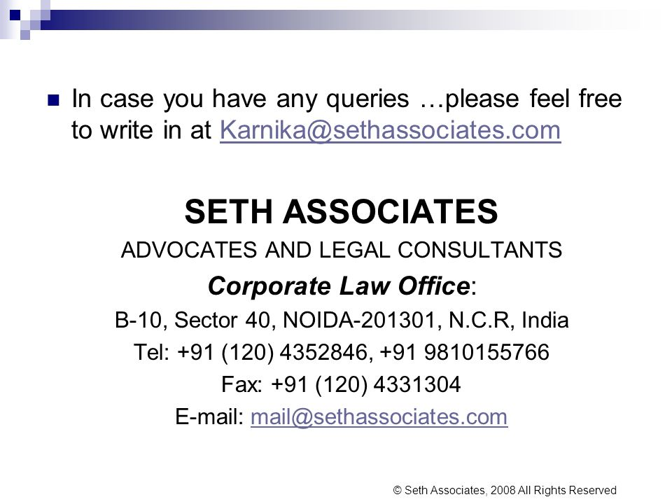 In case you have any queries …please feel free to write in at