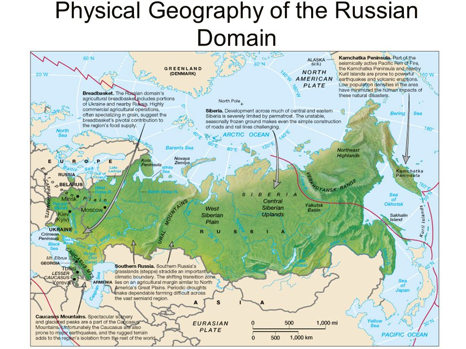 Physical Geography of the Russian Domain