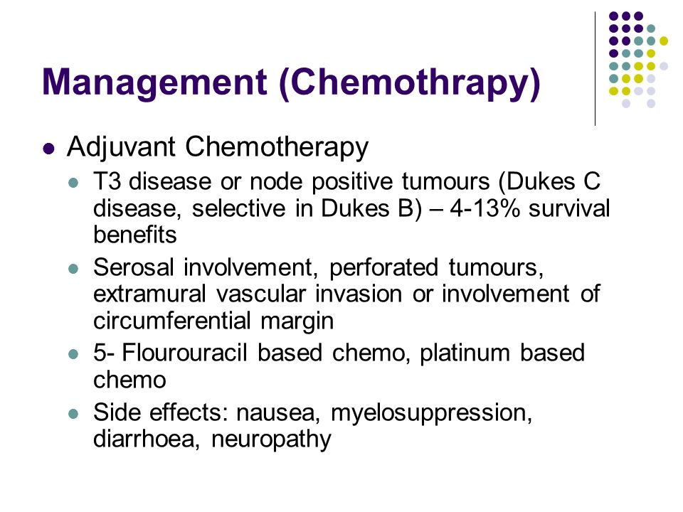 Management (Chemothrapy)