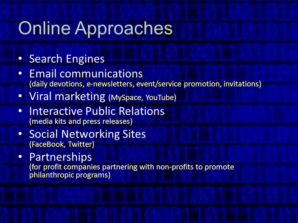 Online Approaches Search Engines