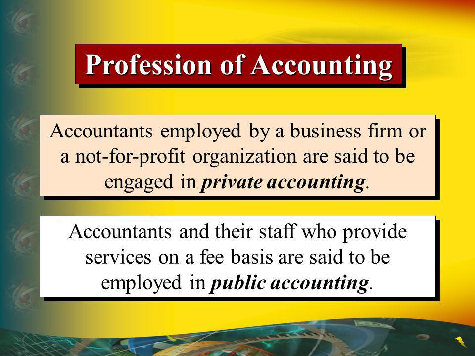 Profession of Accounting