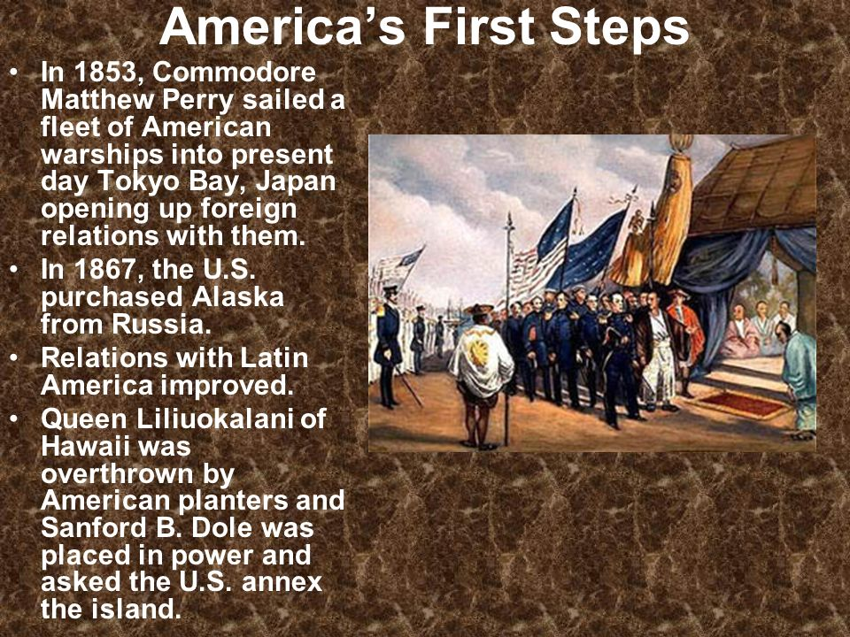 America's First Steps
