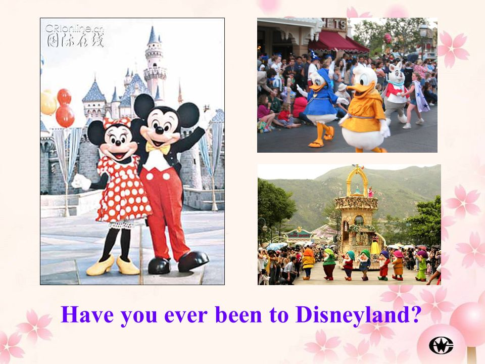 Have you ever been to Disneyland