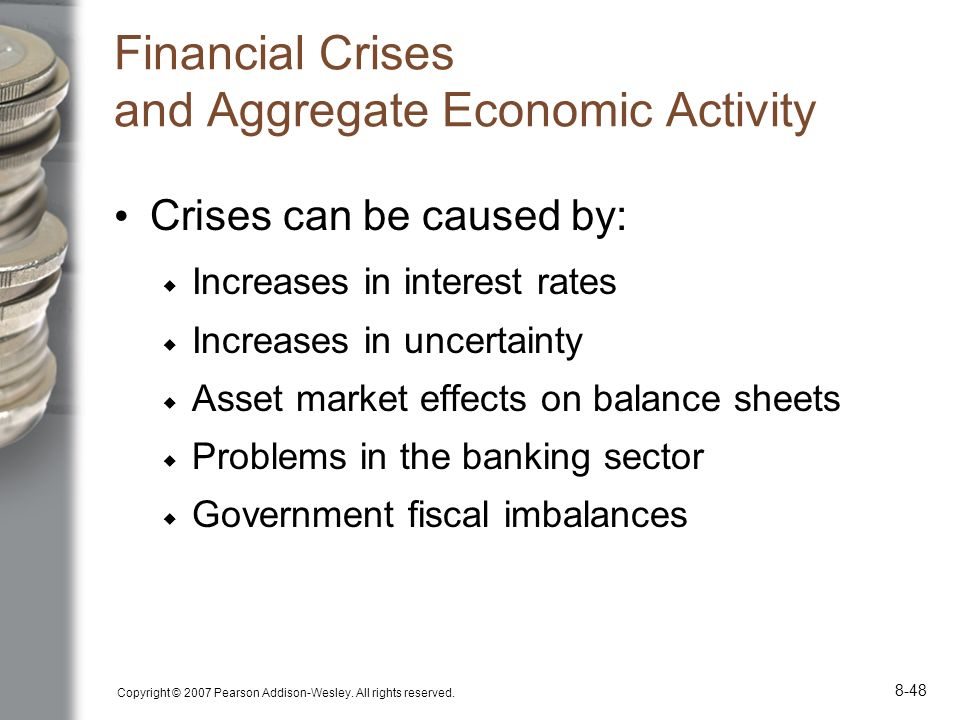 Financial Crises and Aggregate Economic Activity