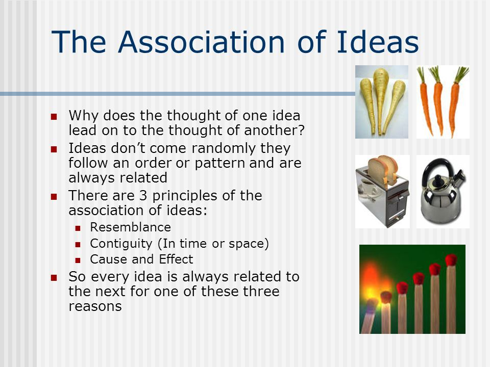 The Association of Ideas