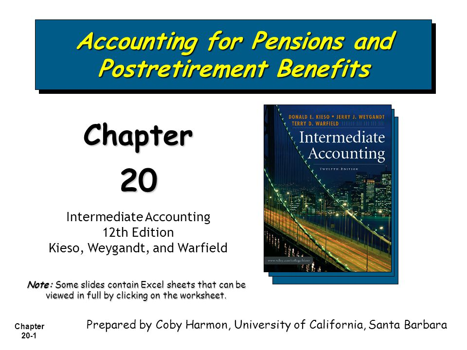Accounting for Pensions and Postretirement Benefits - ppt ...