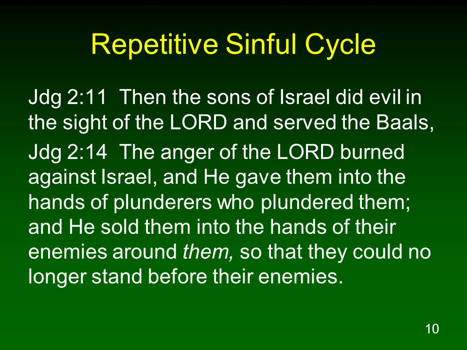 Repetitive Sinful Cycle