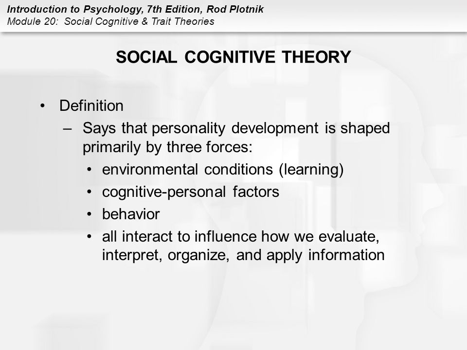 trait and factor theory definition