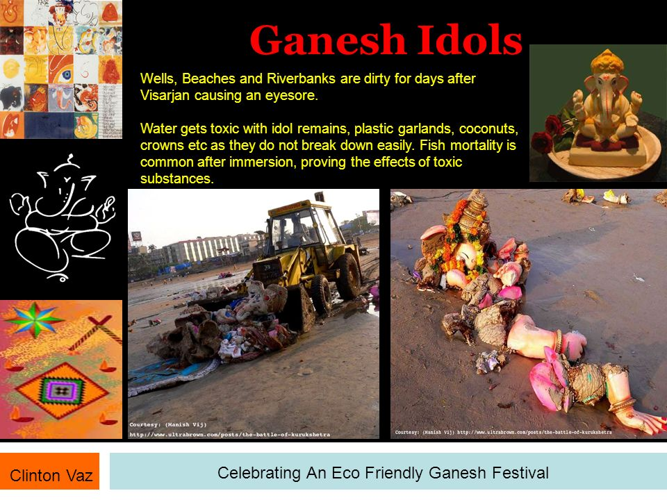 Celebrating An Eco Friendly Ganesh Festival