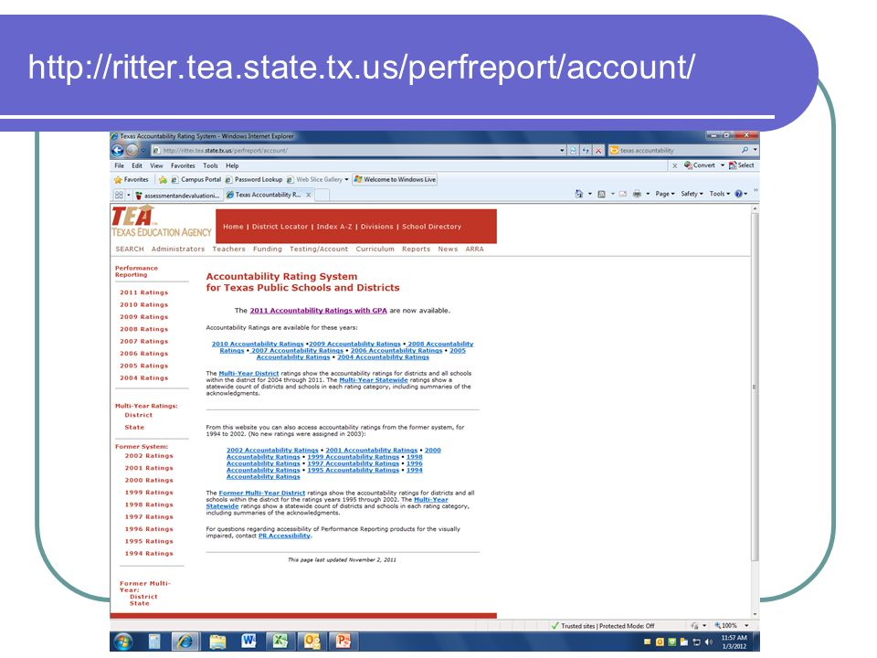 http://ritter.tea.state.tx.us/perfreport/account/