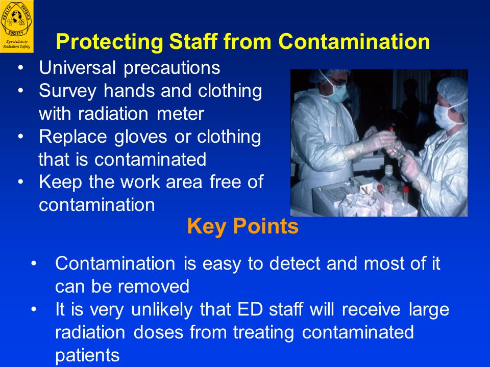 Protecting Staff from Contamination