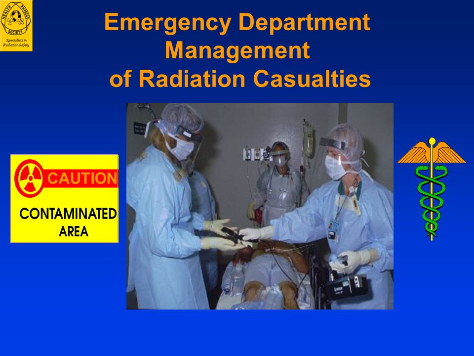 Emergency Department Management of Radiation Casualties