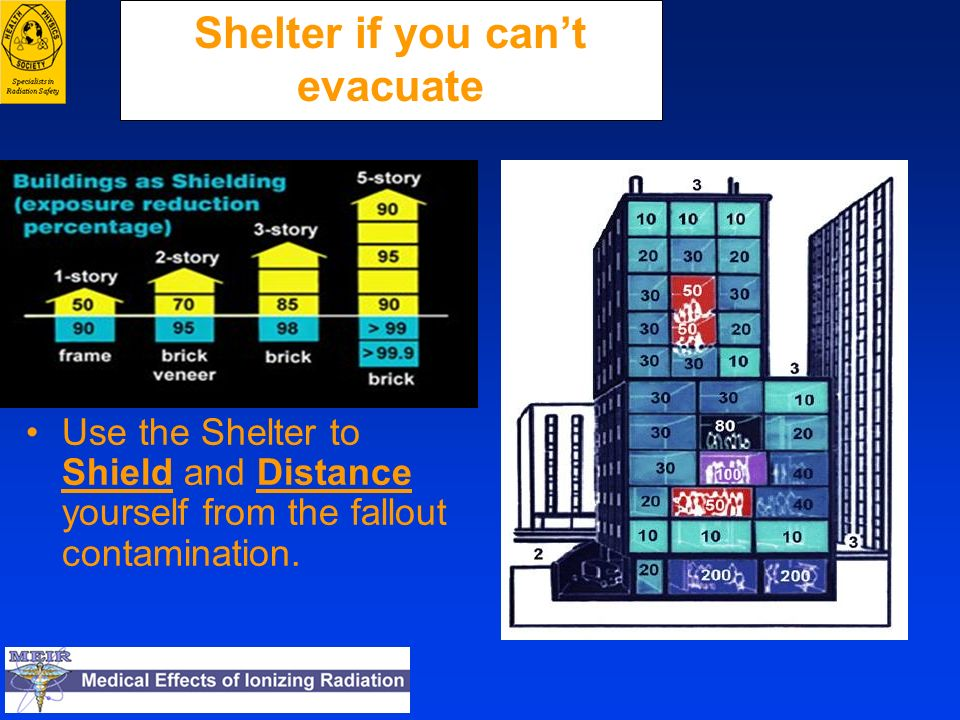 Shelter if you can't evacuate