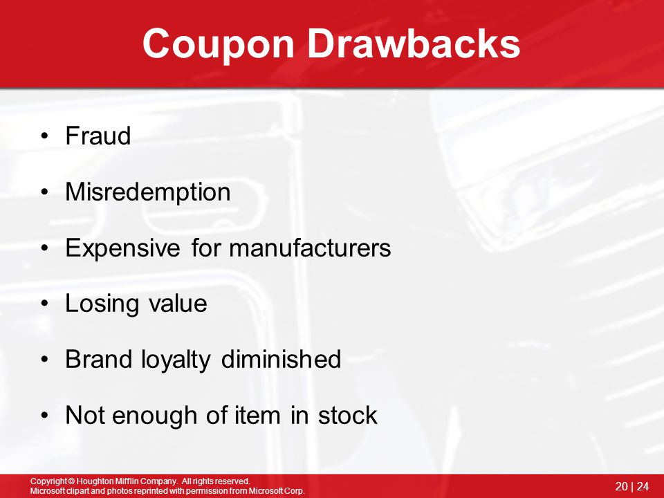 Coupon Drawbacks Fraud Misredemption Expensive for manufacturers