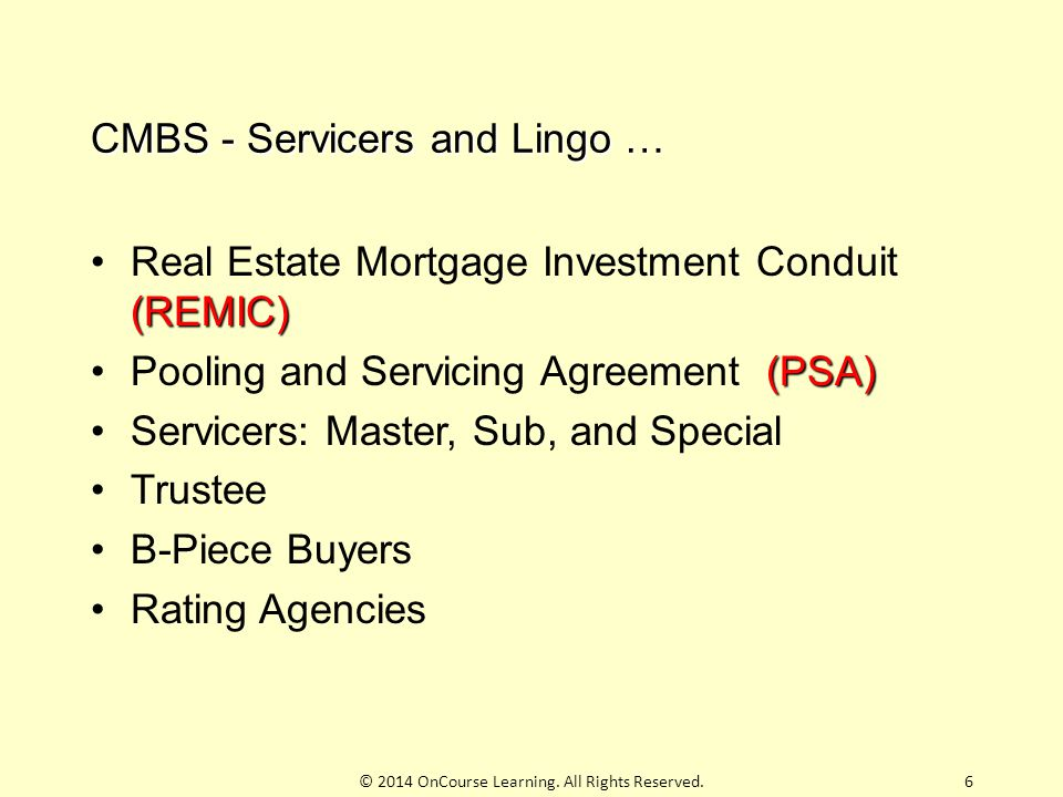 Commercial Mortgage Backed Securities Ppt Download