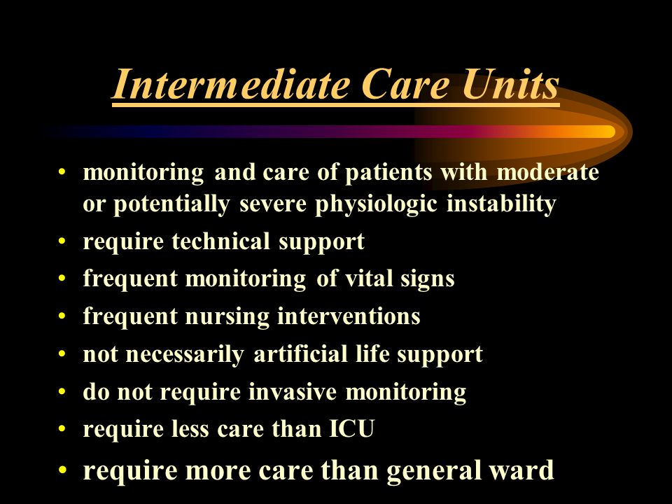 ICU Admission and Triage Criteria - ppt download