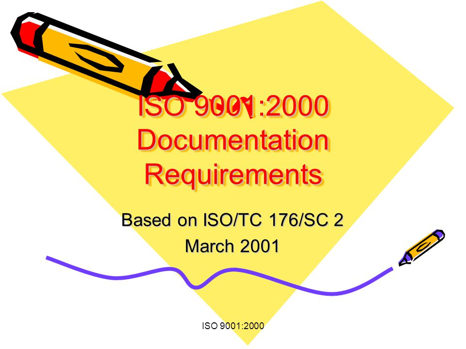 ISO 9001:2000 Documentation Requirements