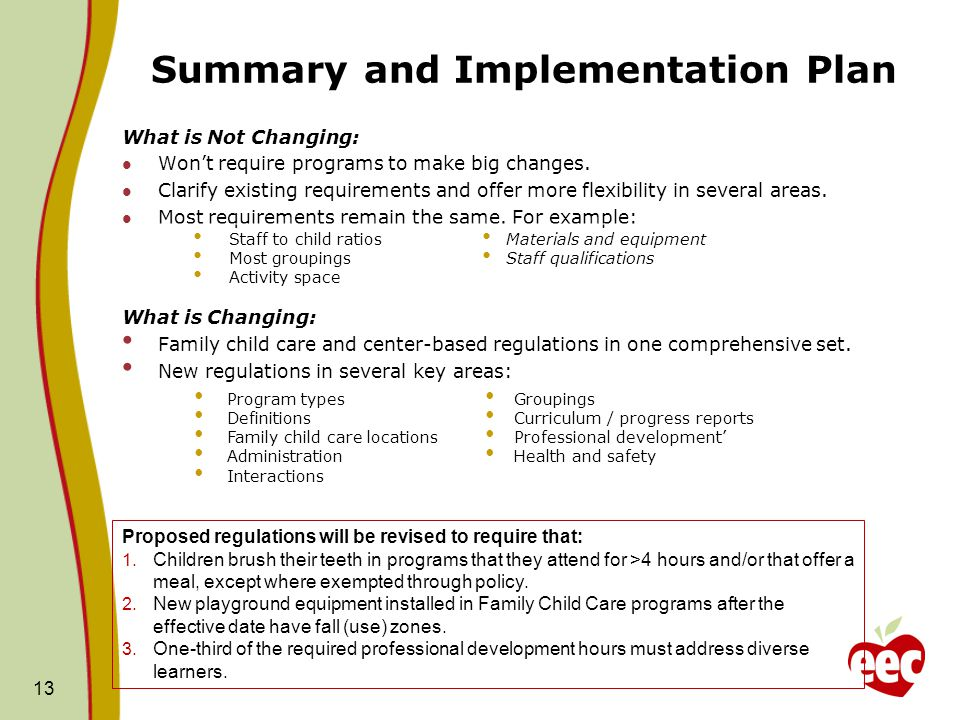 EEC's Proposed Regulations: Overview and Update - ppt video