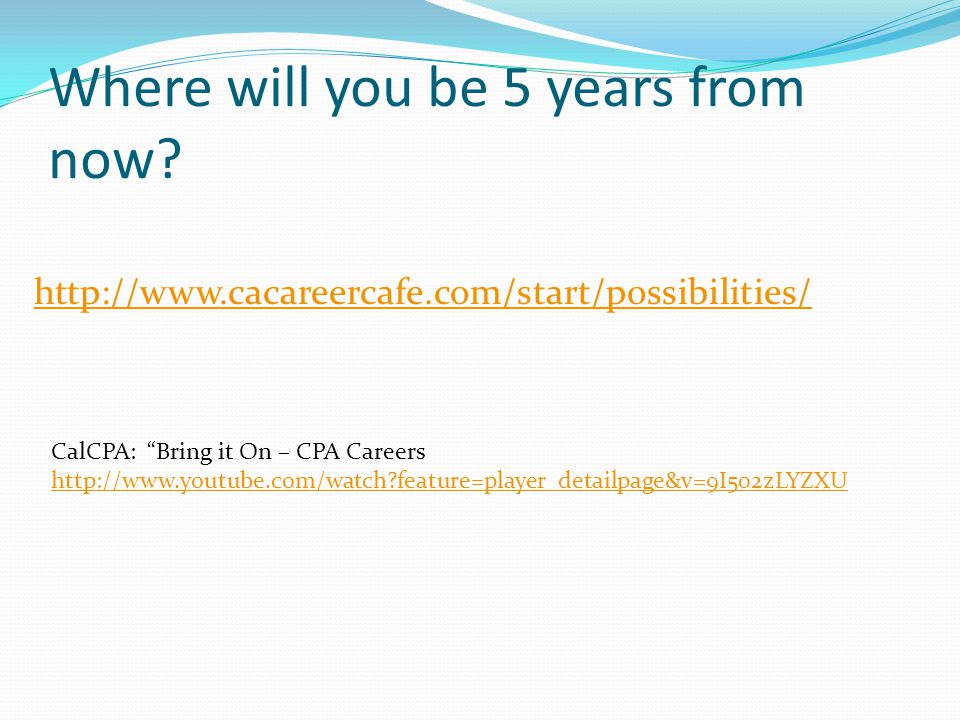 Careers in Accounting Dr  Al Taccone - ppt download